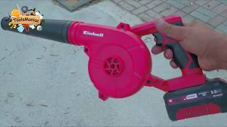 EINHELL Cordless Blower TE-CB 18/180 Li Unboxng and Testing