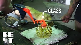 This Glass Art From Tacoma Glassblowing Is Gorgeous   Best Products
