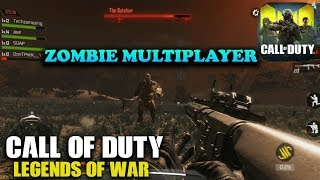 CALL OF DUTY LEGENDS OF WAR - ZOMBIE MULTIPLAYER GAMEPLAY