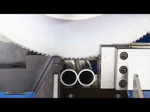 Double Tube Cutting Machine