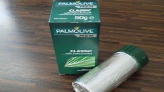 Rasur - Pur ! Rasierseife Palmolive Test review Vorstellung aufschäumen Palmenextract Nassrasur