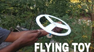 Amazing Flying Toy | How To Make Simple Flying Toy ( Homemade)