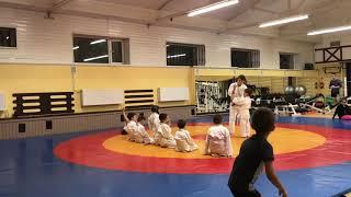 Тренировка Дзюдо