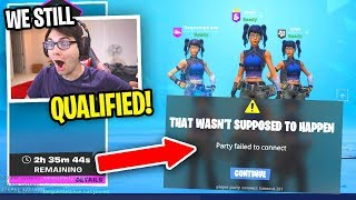 We QUALIFIED for the Trio Champion Series after EPIC GAMES RUINED THE TOURNAMENT... (how)