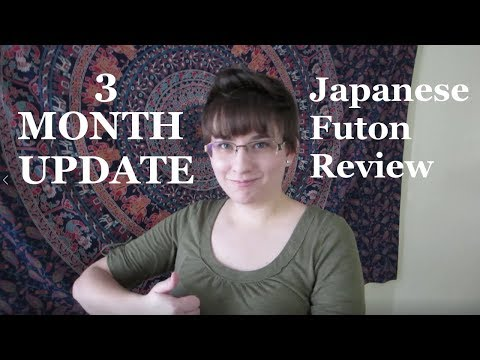 Japanese Futon  – 3 MONTH UPDATE! (Review)