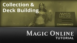 Magic Online: Collection and Deck Building