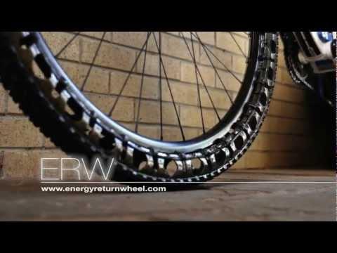 공기가 필요 없는 자전거 바퀴! Airless Bicycle Tire !!