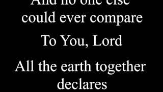 Glory in the Highest (lyrics) - Chris Tomlin