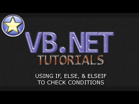 VB.NET Tutorial For Beginners – IF, ELSE, and ELSEIF Statements (Visual Basic .NET)