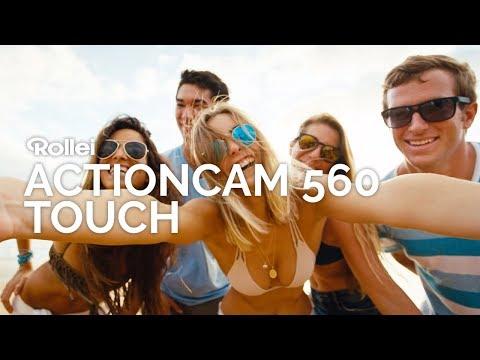 Die neue Rollei Actioncam 560 Touch