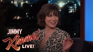 Milla Jovovich Punched Husband/Resident Evil Director In The Face
