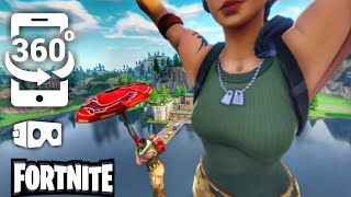 FORTNITE VR 360 SkyDiving Virtual Reality Videos 360° 4K