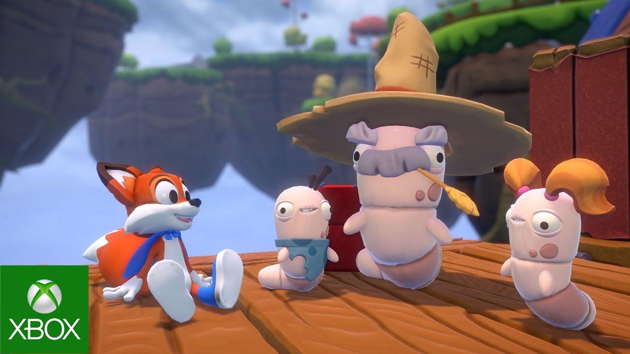 Super Lucky's Tale – E3 2017 – 4K アナウンス ビデオ
