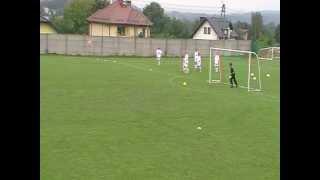 preview picture of video 'LKS Gwiazda Skrzyszów vs MKP Odra Centrum Wodzisław Śl.08.09.2012 I połowa'
