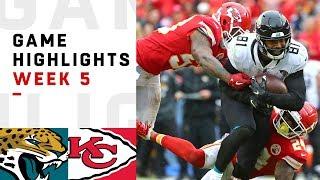 Jaguars vs. Chiefs Week 5 Highlights | NFL 2018