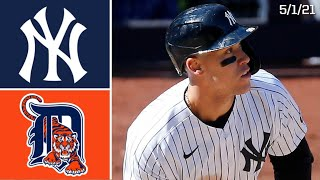 New York Yankees Vs. Detroit Tigers | Game Highlights | 5/1/21