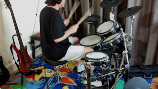 The Romantics - Talking in Your Sleep - drum cover