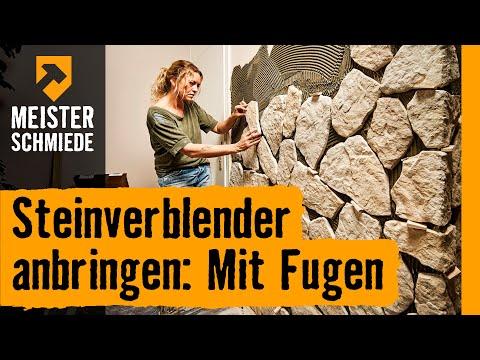 Steinverblender anbringen: Mit Fugen | HORNBACH Meisterschmiede