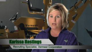 Opportunities in Southeast Iowa, Vermeer