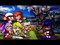 The Battle Cats - SpeedRun All Date Chance Stage [PowerPro Baseball Collab]