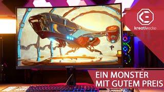 EIN MONSTER GAMING MONITOR zum GÜNSTIGEN Preis! 32 Zoll und 165 Hz! GIGABYTE G32QC im Test!