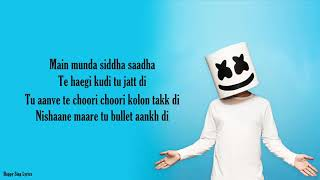BIBA - Marshmello x Pritam Feat Shirley Setia (Lyrics)