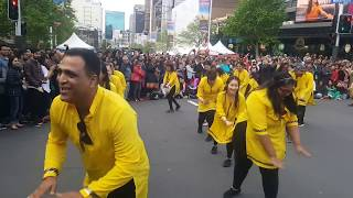 Auckland City Diwali 2016- Asb Bank performing