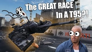 WoT || RACING With A T95 Going 100 KM/H?! || The BEST Gamemode EVER!!!