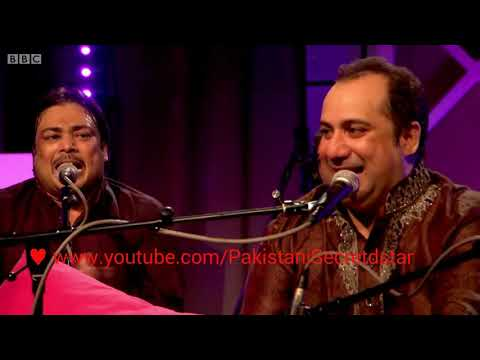 Dam Mast Qalandar. Live Performance of Rahat Fateh Ali Khan on BBC Radio