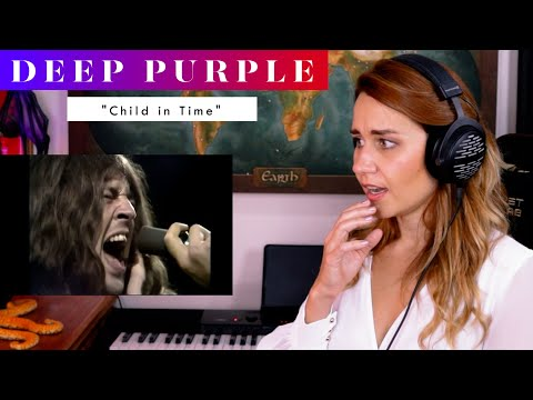 """Deep Purple """"Child In Time"""" REACTION & ANALYSIS by Vocal Coach / Opera Singer"""