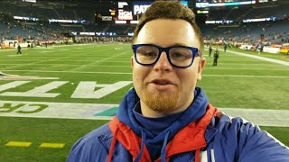 Getting up close to Tom Brady at Gillette Stadium! Giants at Patriots Gameday Vlog 2019