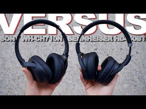 External Review Video v9fsqqummpk for Sennheiser HD 450BT Over-Ear Wireless Headphones w/ Active Noise Cancellation