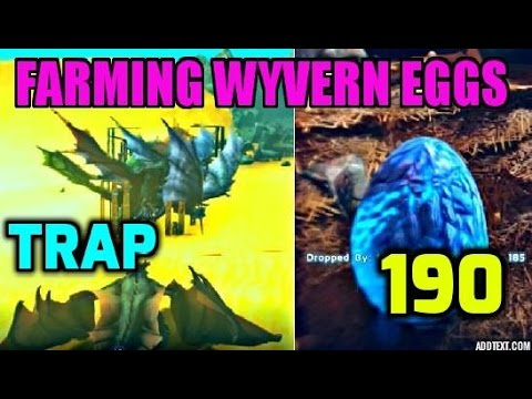 STEALING ICE WYVERN EGG! MAX LEVEL EGG & ANKYLO TAMING - Ark