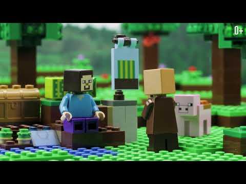 Конструктор «Арбузная ферма» 10807 (Minecraft 21138) / 75 деталей