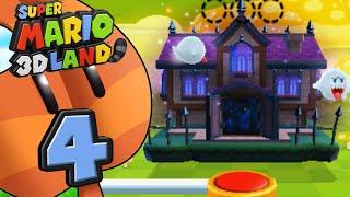 Super Mario 3D Land ITA [Parte 4 - Casa Stregata]