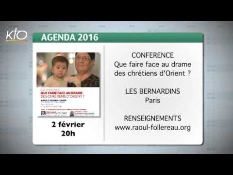 Agenda du 25 janvier 2016