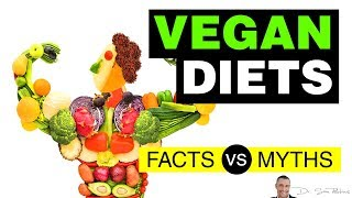 🌿 Vegan Diets - Pros & Cons, Facts vs Myths - by Dr Sam Robbins