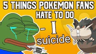 5 Things Pokémon Fan's Hate in the Pokemon Games