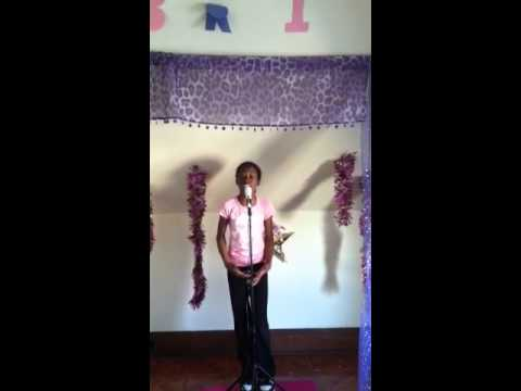 Bri singing Taylor Swift