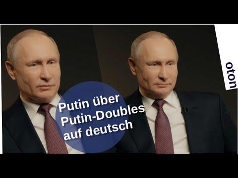 Putin über Putin-Doubles auf deutsch [Video]