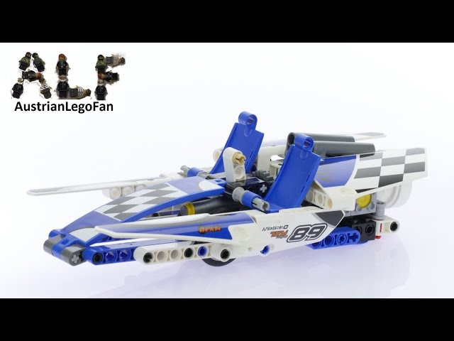 Lego Technic 42045 Race Boat - Lego Speed Build Review