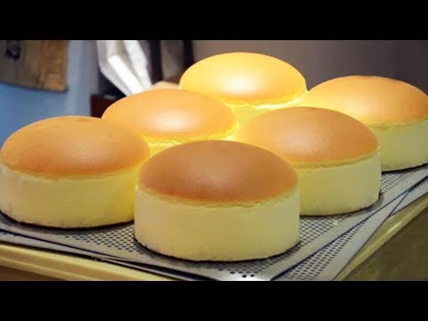 How to Make Jiggly Fluffy Japanese Cheese Cake