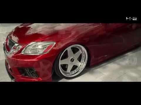 """H-2 Tuned GS430 V8 / AIMGAIN Bodykit & GV-S 19"""" wheel install"""