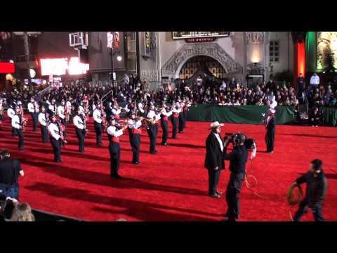 Santa Ana HS Marching Saints - 2012 Hollywood Christmas Parade