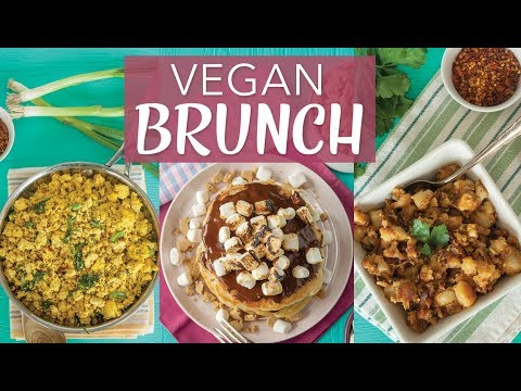 HOW TO MAKE THE BEST VEGAN BRUNCH | 4 Brunch Recipe | S'more Pancakes | Bulletproof Coffee