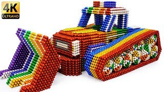 DIY - How To Build Amazing Police Monster Car With Magnetic Balls (Satisfying) - Magnet Balls