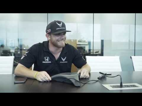 Fan Chat Surprise with Conor Daly