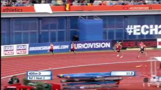European Athletics Championships 2016 - Decathlon Men 400m Heat 3