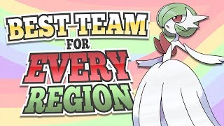 Best Team for Every Region
