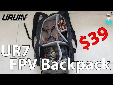 URUAV UR7 - Best Budget Friendly FPV Backpack